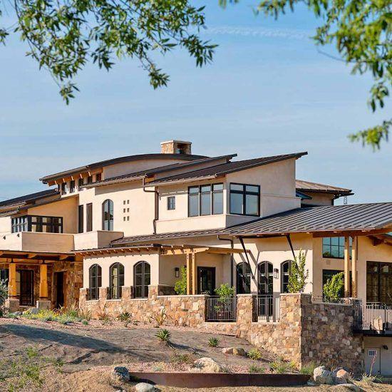Contemporary Ranch Custom Home Designed by HartmanBaldwin