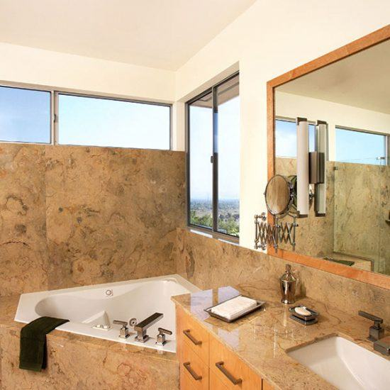 Mid-Century Modern Bathroom Design by HartmanBaldwin