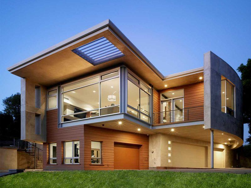 Modern New Custom Home by HartmanBaldwin