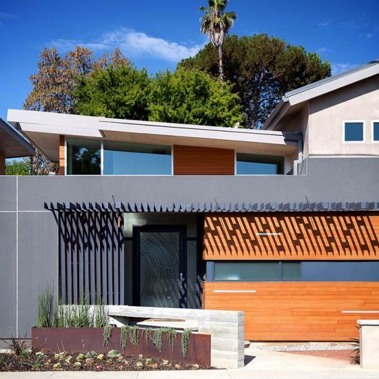 Contemporary Architecture Home Rebuild