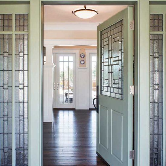Elegant Hampton's Style Entryway Designed by HartmanBaldwin