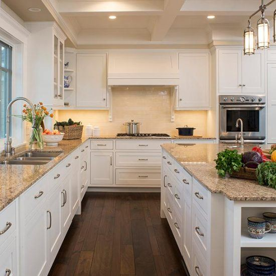 Hampton's Style Classic Kitchen Designed by HartmanBaldwin