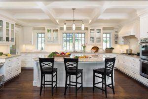 Hampton's Style Kitchen Design by HartmanBaldwin