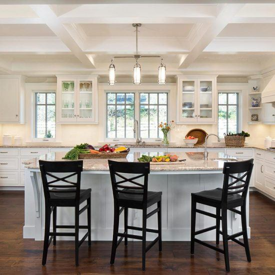 Hampton's Style Kitchen Design by HartmanBaldwin