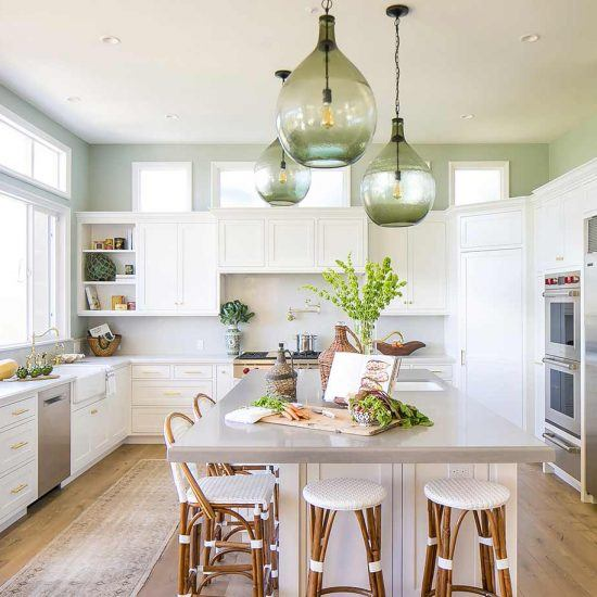 Seaside Kitchen Home Design by HartmanBaldwin