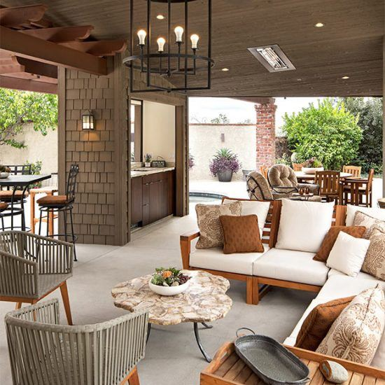 Luxury Outdoor Living Design by HartmanBaldwin
