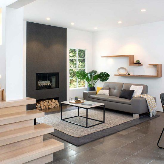 Modern Minimalist Living Room by HartmanBaldwin