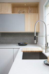Modern Kitchen Counter and Sink Design by HartmanBaldwin