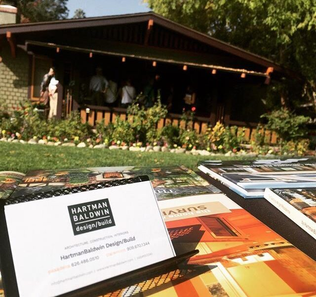 Every year we are proud to sponsor Pasadena Heritage's Annual Craftsman Weekend. Pasadena Heritage represents the preservation of historic buildings, neighborhoods, and cultural resources in a city nationally known for its architectural legacy.
