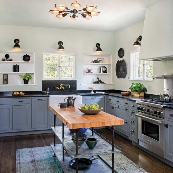Custom Spanish Style Kitchen Designed by HartmanBaldwin