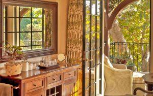 English Garden Traditional Style Balcony Design by HartmanBaldwin