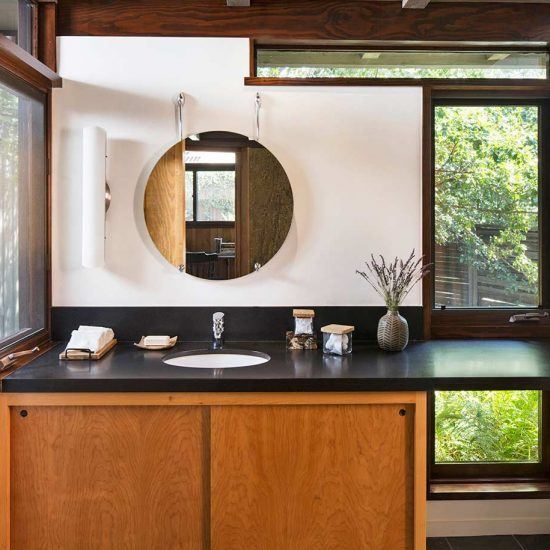 Mid-Century Modern Home Bathroom Remodel by HartmanBaldwin