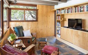 Luxury Mid-Century Modern Home with Post and Beam Architecture by HartmanBaldwin