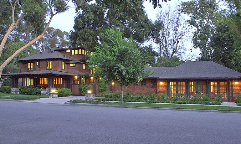 The home for the President of Claremont McKenna College