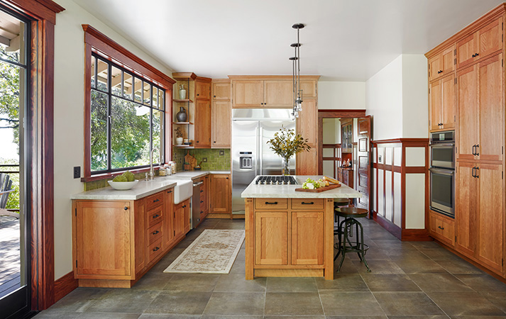 After MiraMonte Contemporary Craftsman Kitchen Remodel by HartmanBaldwin