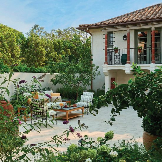 Italianate Villa Outdoor Living Restoration by HartmanBaldwin Photo by Architectural Digest