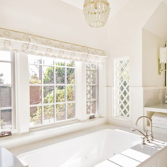 Hillside French Normandy Custom Bathroom Renovation Design Rebuild by HartmanBaldwin