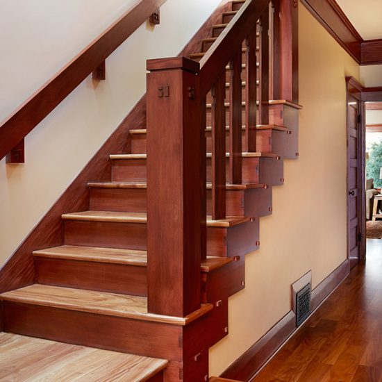 Craftsman Home Renovation Staircase by HartmanBaldwin