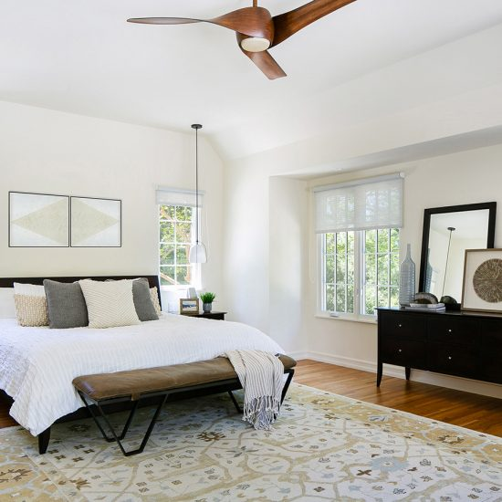 Rustic Contemporary Master Bedroom Remodel Design by HartmanBaldwin