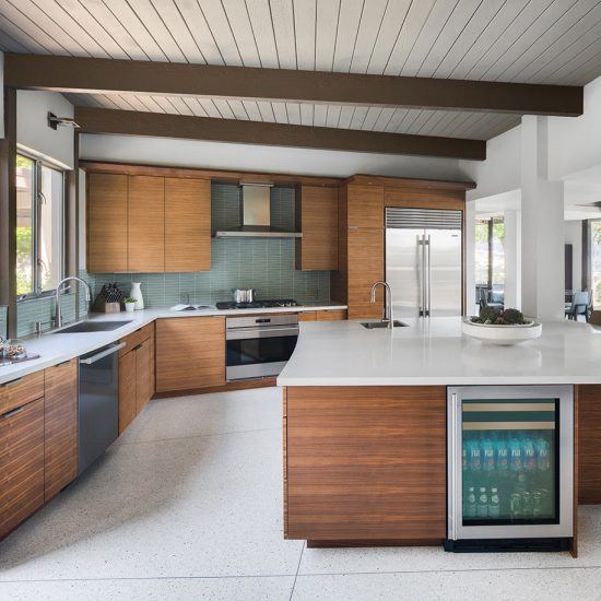 HartmanBaldwin Mid-Century Custom Home Kitchen Renovation