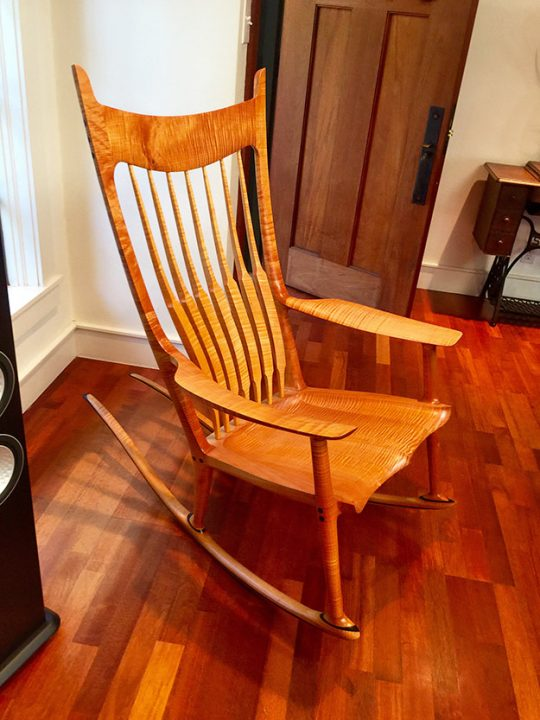 Bill Baldwin Sam Maloof Chair